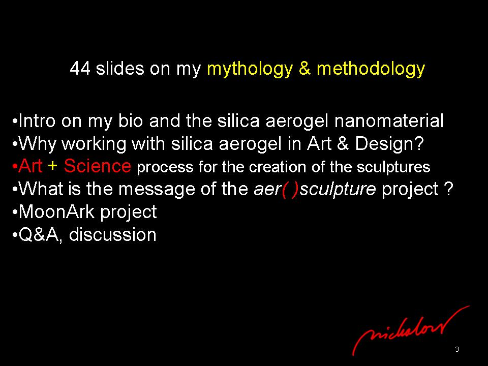 nanoSKY on the Moon - Dr. Ioannis Michaloudis - nano-sculpture - Slide3