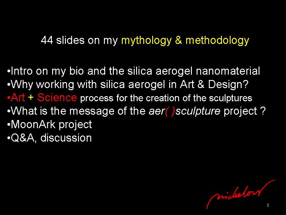 nanoSKY on the Moon - Dr. Ioannis Michaloudis - nano-sculpture - Slide3