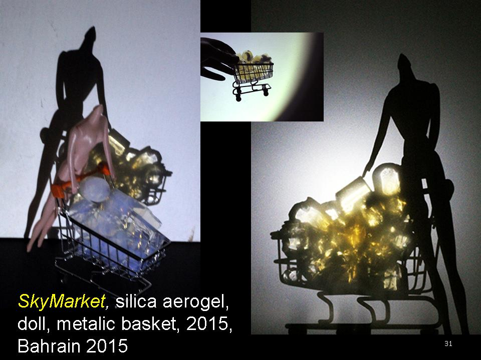 nanoSKY on the Moon - Dr. Ioannis Michaloudis - nano-sculpture - Slide31