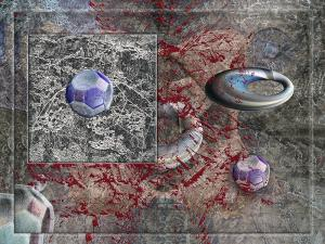 Jean Constant - USA - Symmetrohedra canyon