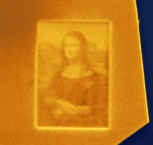 Bjorn Hoffmann - Germany - Smallest Mona Lisa in the world