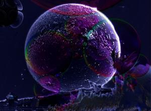 Teja Krasek - Mysterious Blue Worlds