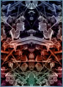 Teja Krasek - Quasicrytsal Parallel Universes - nanoart - moon arts museum